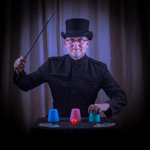 The trainee Magician by JackAllTog