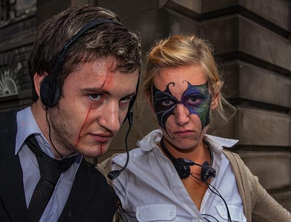 Gotham City Reporters by stevenb