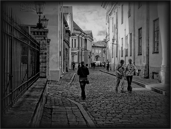 A street in Tallinn (1) by PhilT2