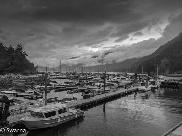 Evening at Horseshoe Bay... by Swarnadip