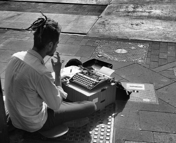 Paperback Street Writer by Steveo28