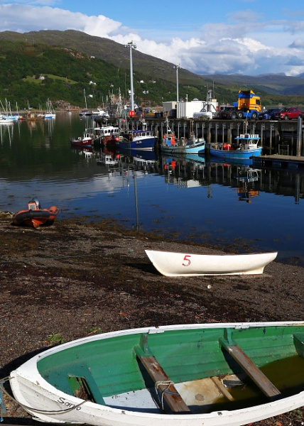 Ullapool Harbour by mikekay