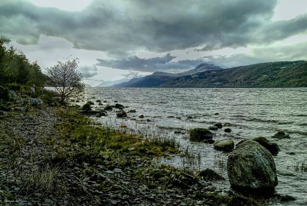 Overcast O\'er Loch Ness. by Tooma