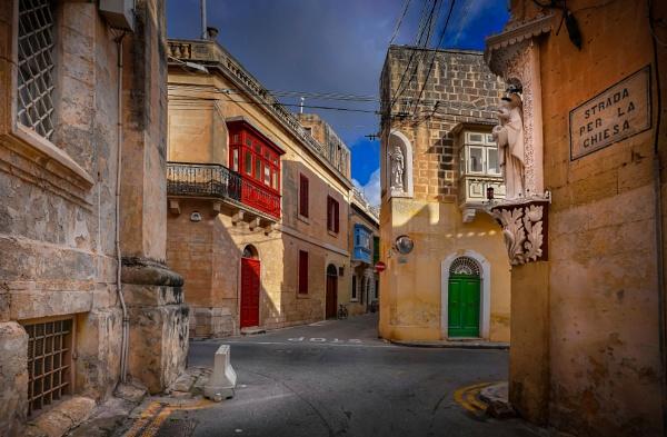 Zebbug Malta --- Church Street by Edcat55