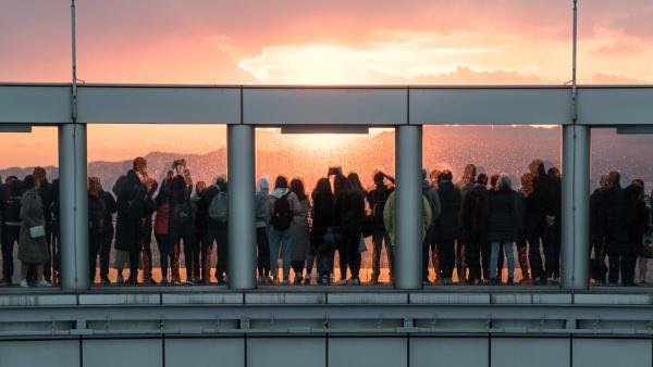 Umeda Sunset by Silverlake