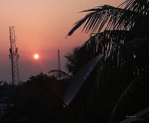 The sun. by Rudranath