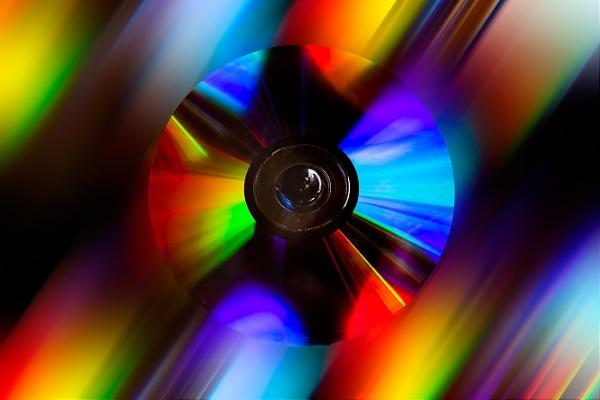 Rainbow disc by STUARTHILL758