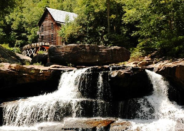 Glade Creek Grist Mill by jrsundown