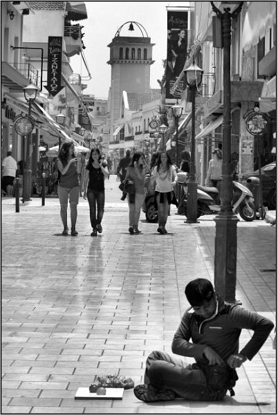 Greece in Mono 29 by lifesnapper