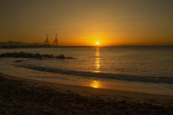 Malaga Sunrise by Alfie_P