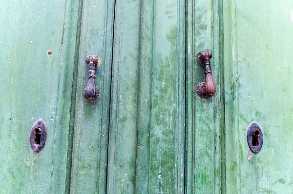 Door In Frigiliana by AJG