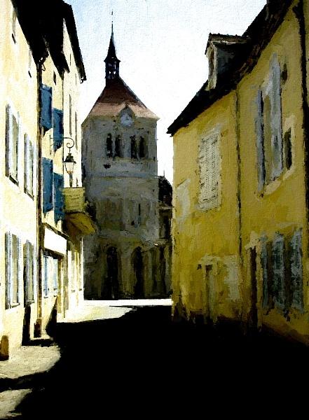 Ebreuil. by NotLostinFrance