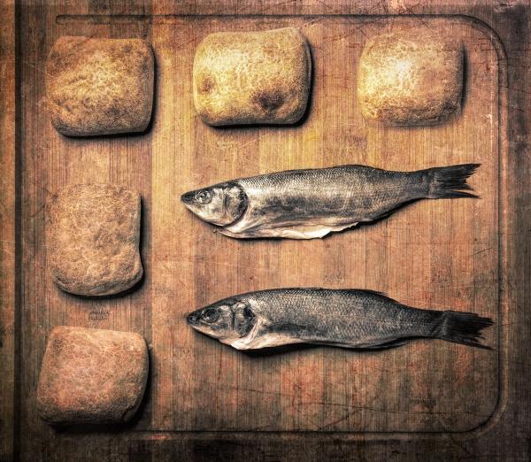 Biblical Supper by gavrelle