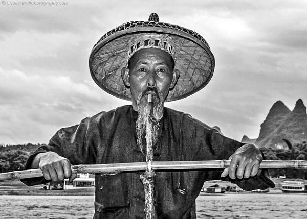 Smoking Fisherman, Guilin, China Part 1 by brian17302