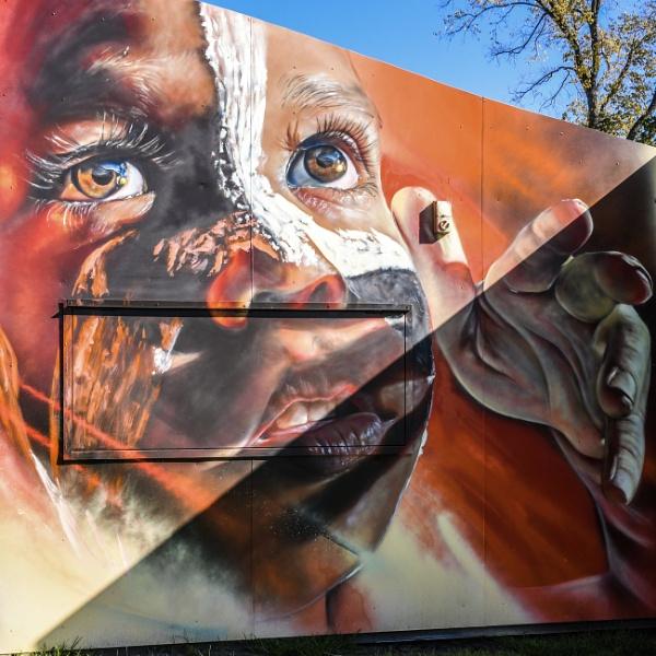 Young Aboriginal boy by ColleenA