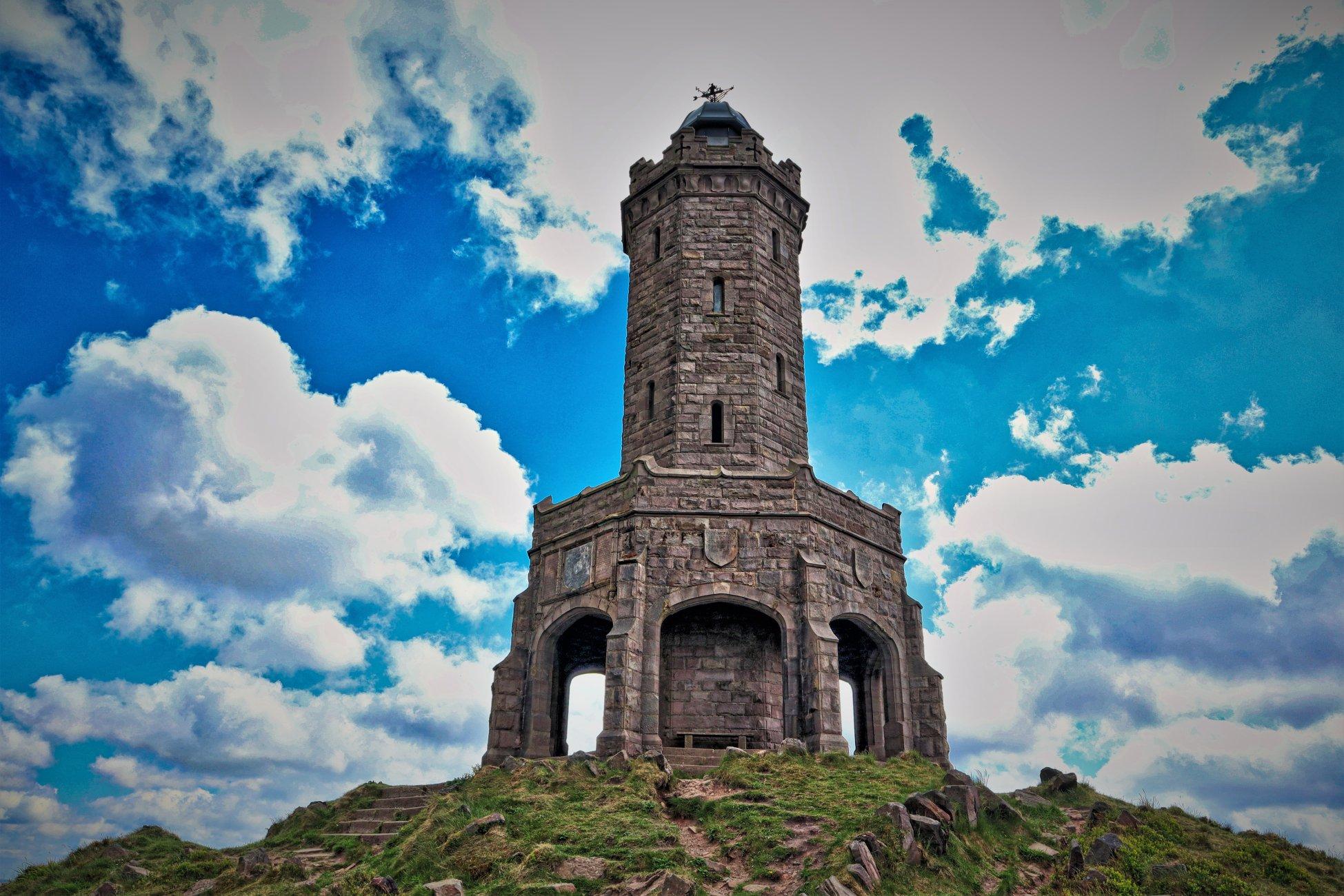 Dan Dare's Rocket (Darwen Tower)