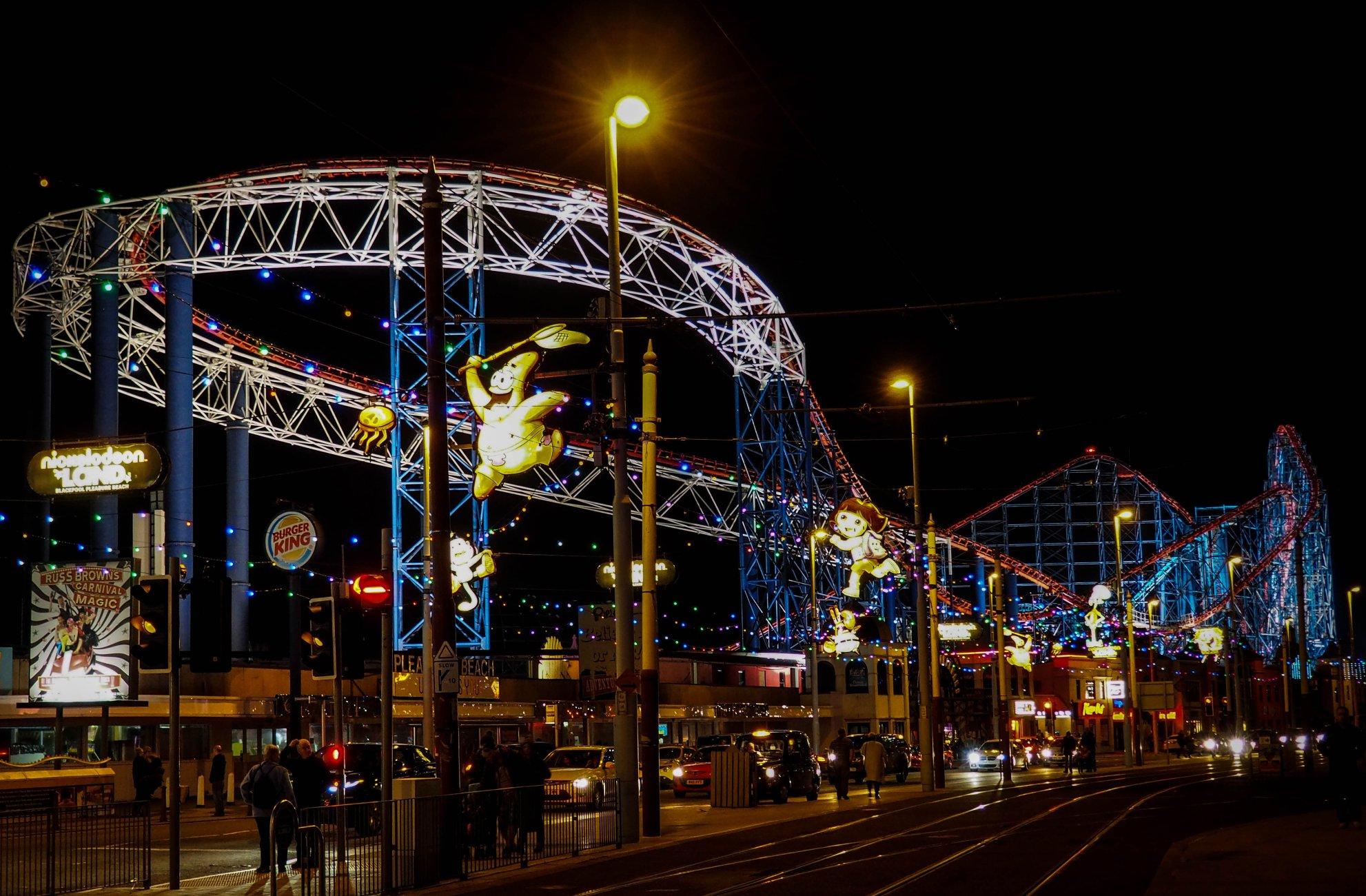 Blackpool by Night