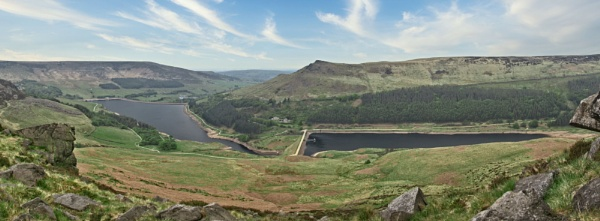 Dovestone and Yeoman Hey Reservoir. by Alex64