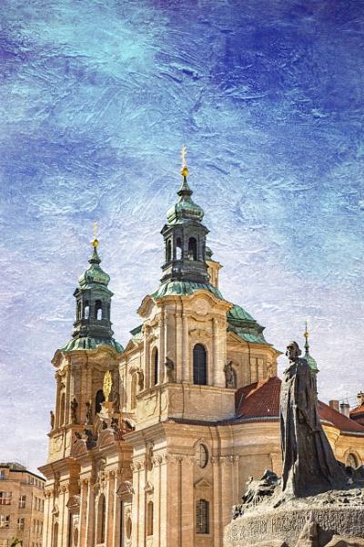 Jan Hus, Old Town Square, Prague. by Owdman