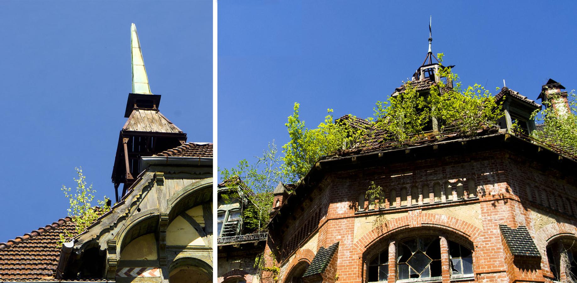 Heilstätten. Beelitz, Germany