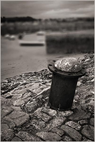 Old Mooring Post by AlfieK