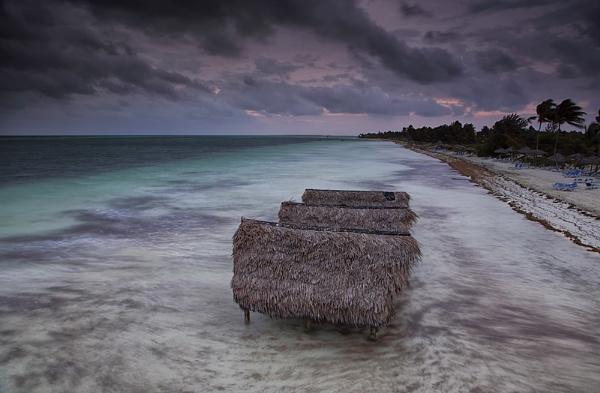 Beach Huts Cayo Coco by Buffalo_Tom