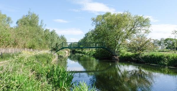 Footbridge by bluetitblue