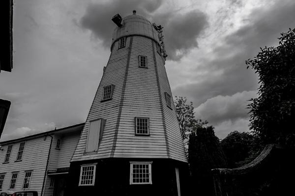 Old windmill by bluetitblue