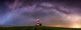 Milky way over Happisburgh.