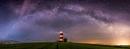 Milky way over Happisburgh. by ianrobinson