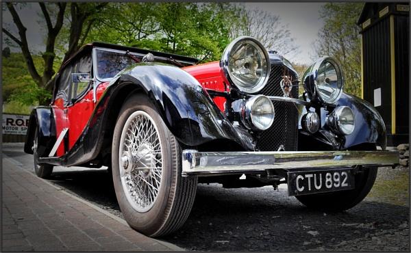 1936 Alvis Speed 20SD (5) by PhilT2