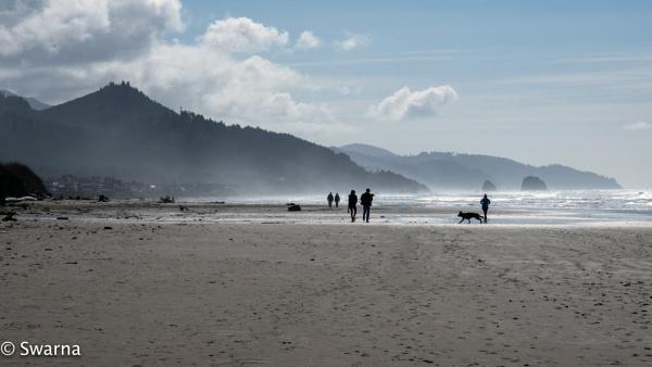 Cannon Beach - Seaside Oregon by Swarnadip