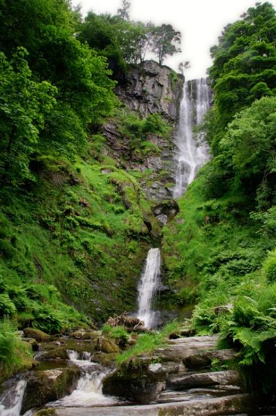 Pistyll Rhaeadr Waterfalls by mj.king