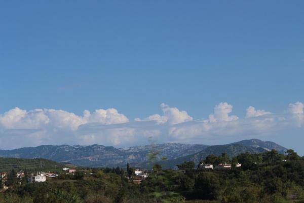 View of Turkish hills. by carol01