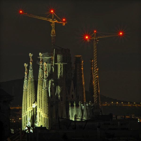 Night in Barcelona by MAK54