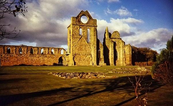 Arbroath Abbey by silverscot