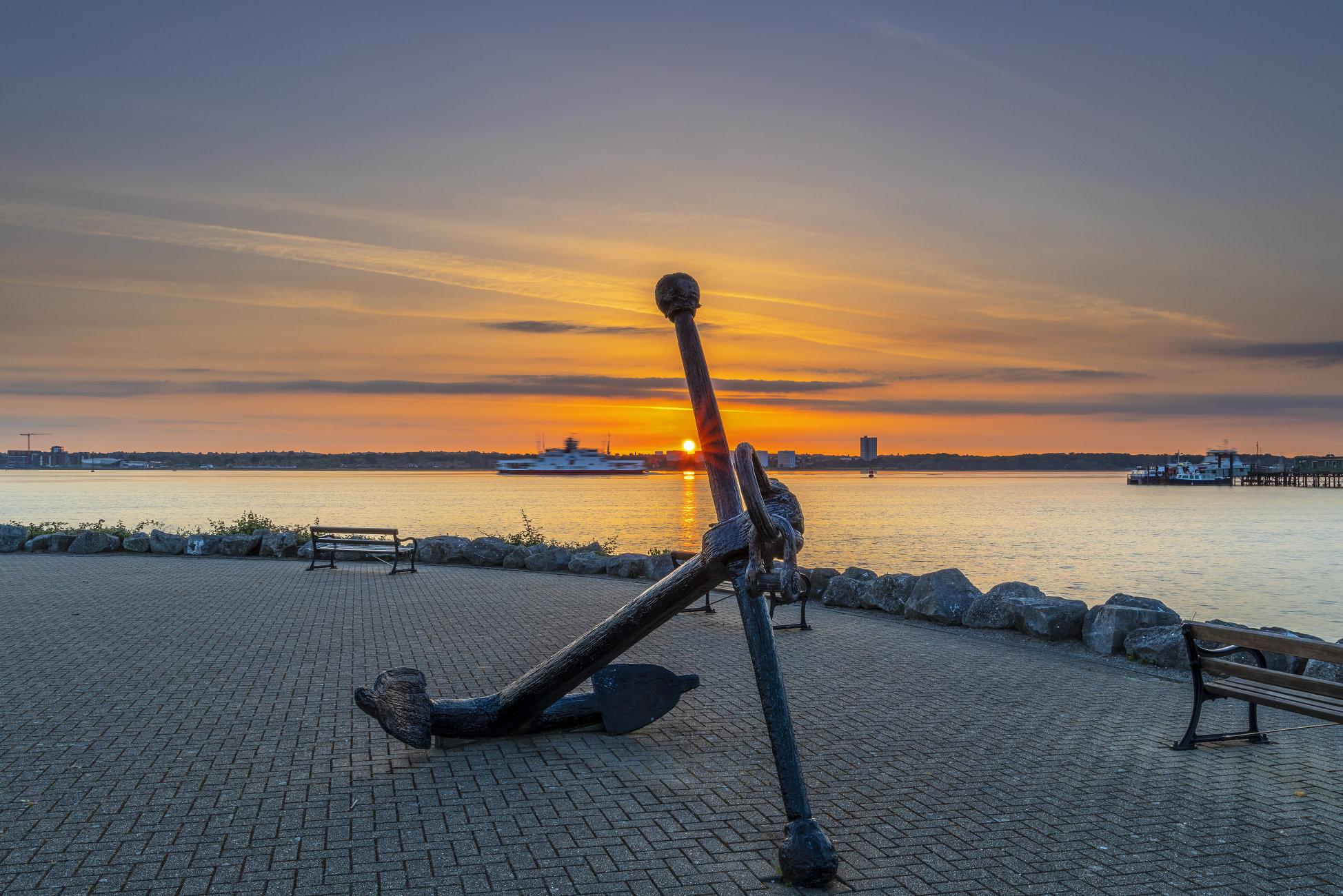 Southampton Water Sunrise