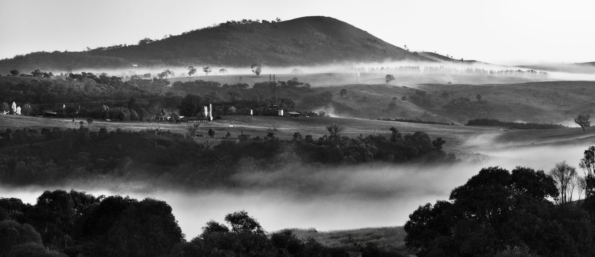 Daybreak at Woodstock, Australian Capital Territory