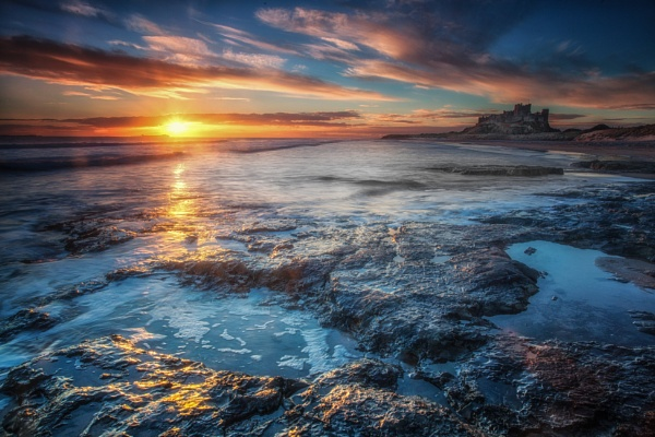 Bamburgh Dawn by Legend147
