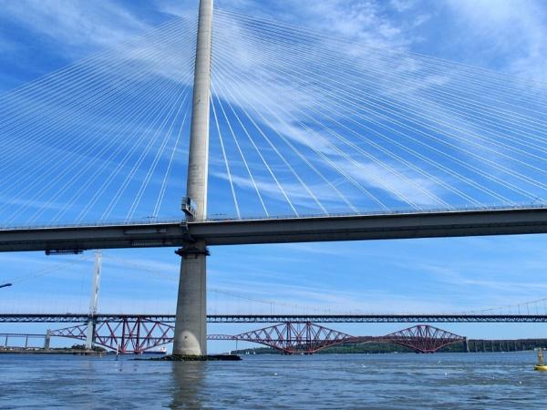The three bridges, Edinburgh by Maple62
