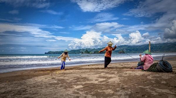 Fisherman by Nanang