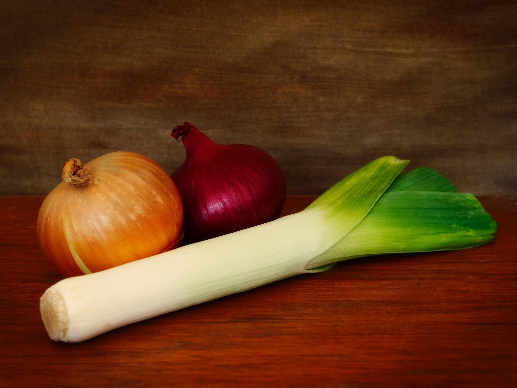Leek and Onions