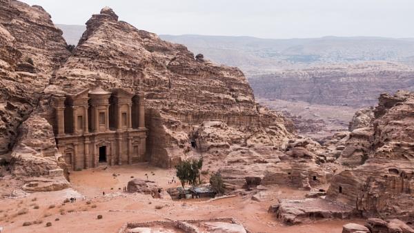 The Monastery, Petra, Jordan by Silverlake