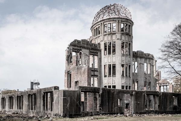 Atomic Bomb Dome, Hiroshima, Japan by Silverlake