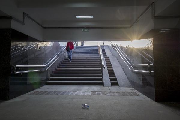 Underground crossing by AVoizechovsky