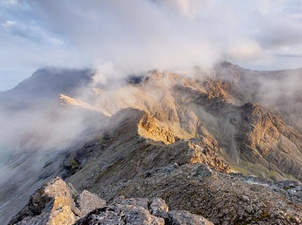 Cuillin Ridge by PaulHolloway
