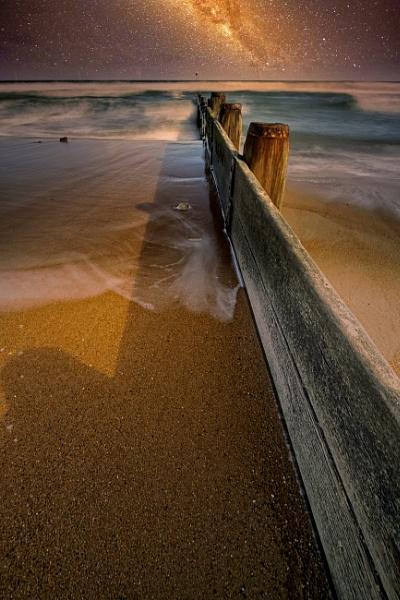 Stars At Blyth Beach by mmart