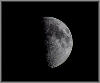 Moon on the  30th May