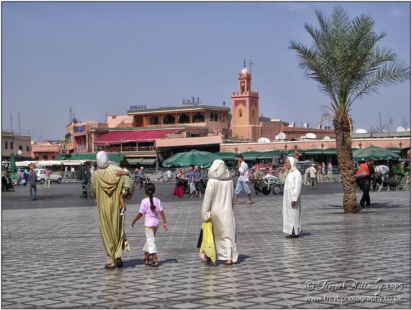 Jemaa el-Fnaa by TrevBatWCC