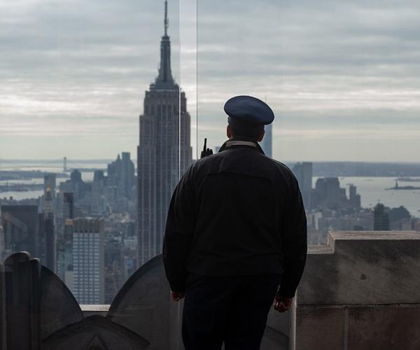 Gaurdian over NYC by rontear